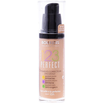 Belleza Mujer Base de maquillaje Bourjois 123 Perfect Liquid Foundation 57-light Bronze   30 ml