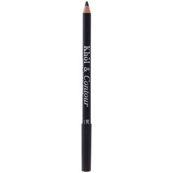 Belleza Mujer Lápiz de ojos Bourjois Khôl&contour Eye Pencil 001-black 1,2 Gr 1,2 g