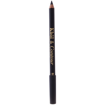 Belleza Mujer Lápiz de ojos Bourjois Khôl&contour Eye Pencil 002-ultra Black 1,2 Gr 1,2 g