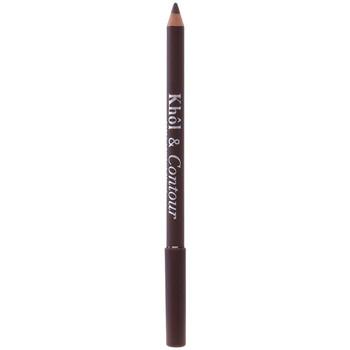 Belleza Mujer Lápiz de ojos Bourjois Khôl&contour Eye Pencil 005-chocolat 1,2 Gr 1,2 g