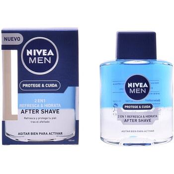 Belleza Hombre Cuidado Aftershave Nivea Men Protege & Cuida After Shave 2 En 1  100 ml