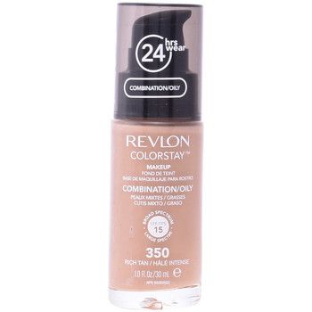 Belleza Mujer Base de maquillaje Revlon Colorstay Foundation Combination/oily Skin 350-rich Tan 30 ml