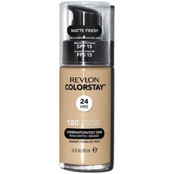 Belleza Mujer Base de maquillaje Revlon Colorstay Foundation Combination/oily Skin 180-sand Beige
