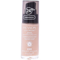 Belleza Mujer Base de maquillaje Revlon Gran Consumo Colorstay Foundation Combination/oily Skin 220-naturl Beige