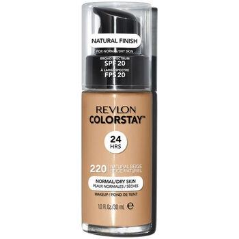 Belleza Mujer Base de maquillaje Revlon Colorstay Foundation Normal/dry Skin 220-natural Beige 30 ml