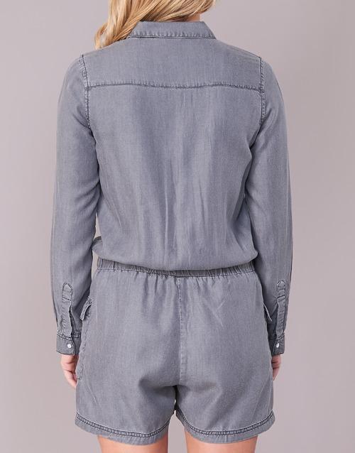 MonosPetos Weavy Textil Deeluxe Gris Mujer kiuPXZ