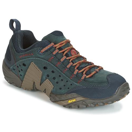 Zapatos especiales para hombres y mujeres Merrell INTERCEPT Azul