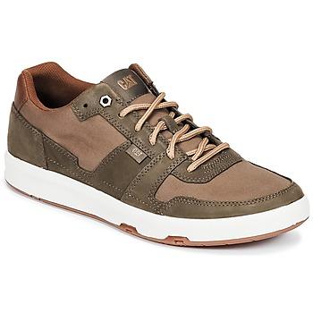 Zapatos Hombre Zapatillas bajas Caterpillar LINE UP CANVAS Marrón