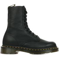 Zapatos Mujer Botas de caña baja Dr Martens 1490 Black Virginia Negro