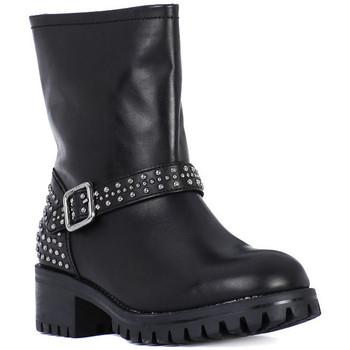 Zapatos Mujer Botas urbanas Frau TIBET NERO METAL Nero