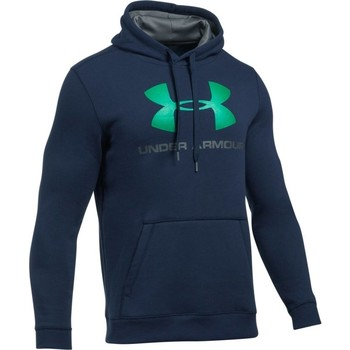 textil Hombre sudaderas Under Armour Rival Fitted Graphic Hoodie Azul marino