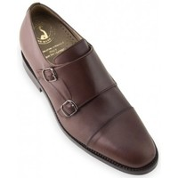 Zapatos Hombre Derbie Masaltos Bristol marron chocolate Marrón