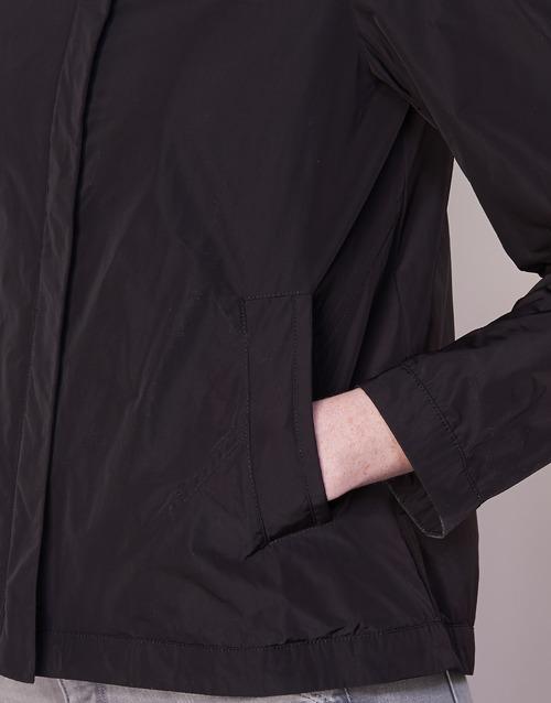 Textil Negro Geox Portce Cazadoras Mujer EIW29DH