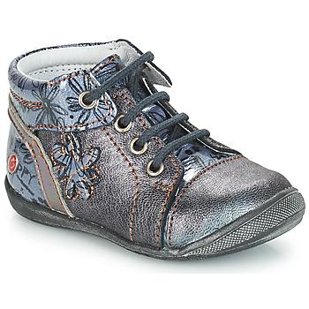 Zapatos Niña Botas de caña baja GBB ROSEMARIE Gris / Azul