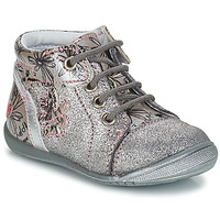 Zapatos Niña Botas de caña baja GBB ROSEMARIE Vct / Gris / Plata - imprime  / Dpf / Kezia