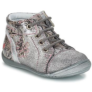 Zapatos Niña Botas de caña baja GBB ROSEMARIE Plateado