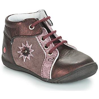 Zapatos Niña Botas de caña baja GBB RESTITUDE Marrón