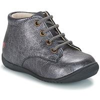 Zapatos Niña Botas de caña baja GBB NAOMI Plata