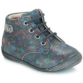 Zapatos Niña Botas de caña baja GBB NICOLE Vte / Gris / Estampado / Dpf / Kezia