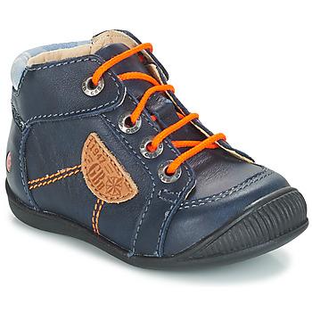 Zapatos Niño Botas de caña baja GBB RACINE Azul / Marino