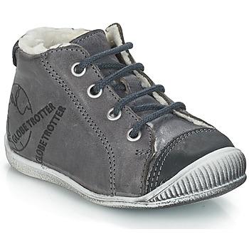 Zapatos Niño Botas de caña baja GBB NOE Vte / Gris / Dch / Raiza