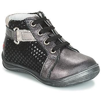 Zapatos Niña Zapatillas altas GBB RICHARDINE Negro / Gris