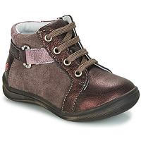 Zapatos Niña Botas de caña baja GBB RICHARDINE Marrón / Bronce