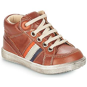 Zapatos Niño Botas de caña baja GBB ANGELITO Marrón