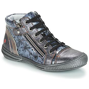 Zapatos Niña Botas de caña baja GBB RACHIDA Vnv / Gris / Azul - estampado / Dpf / Sabina