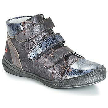Zapatos Niña Botas de caña baja GBB RAFAELE Vtv / Gris / Azul - estampado / Dpf / Sabina