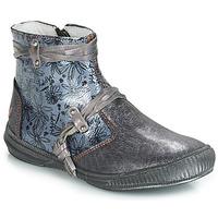 Zapatos Niña Botas de caña baja GBB REVA Gris / Azul