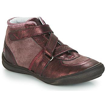 Zapatos Niña Botas de caña baja GBB RIQUETTE Vtc / Vx / Rosa - burdeo  / Dpf / Regina