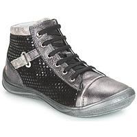 Zapatos Niña Zapatillas altas GBB ROMIE Gris / Negro