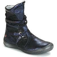 Zapatos Niña Botas urbanas GBB ROSANA Azul / Negro