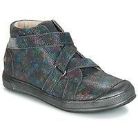 Zapatos Niña Botas de caña baja GBB NADEGE Vte / Gris / Estampado / Dpf / Edit
