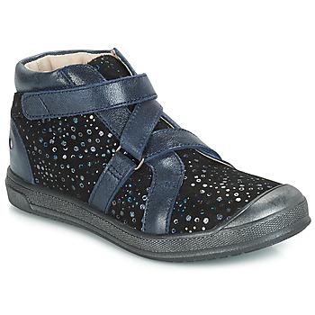 Zapatos Niña Botas de caña baja GBB NADEGE Vte / Negro / Confetti / Dpf / Edit