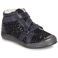 Zapatos Niña Botas de caña baja GBB NADEGE Vte / Negro / Confetti / Dch / Edit