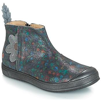 Zapatos Niña Botas urbanas GBB ROMANE Vte / Gris / Estampado / Dpf / Edit