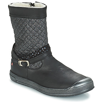 Zapatos Niña Botas urbanas GBB ROLANDE Negro