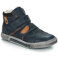 Zapatos Niño Botas de caña baja GBB RANDALL Vtc / Azul / Dch / Stryke