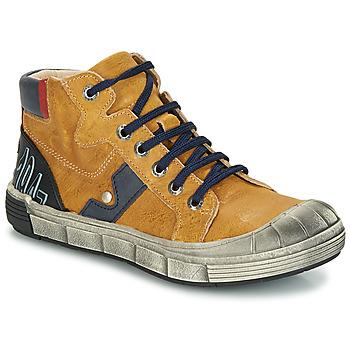 Zapatos Niño Botas de caña baja GBB RENZO Vte / Ocre / Dpf / 2831