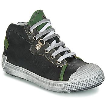 Zapatos Niño Botas de caña baja GBB RONALD Vte / Negro-verde / Dpf / Terrore