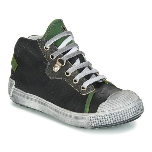 Zapatos Niño Zapatillas altas GBB RONALD Gris / Verde