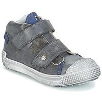Zapatos Niño Bandolera GBB ROMULUS Gris / Azul