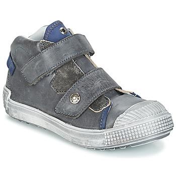 Zapatos Niño Zapatillas altas GBB ROMULUS Gris / Azul