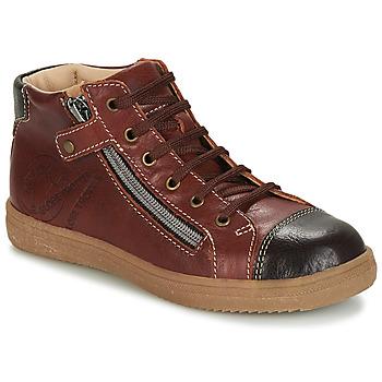 Zapatos Niño Zapatillas altas GBB NICO Marrón