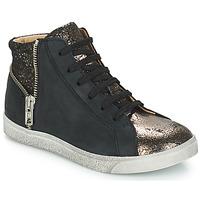 Zapatos Niña Zapatillas altas GBB CARLA Negro / Bronce