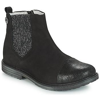Zapatos Niña Botas de caña baja GBB LEONTINA Negro
