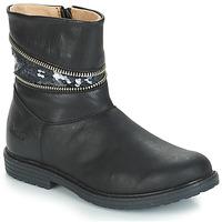 Zapatos Niña Botas urbanas GBB MAFALDA Negro
