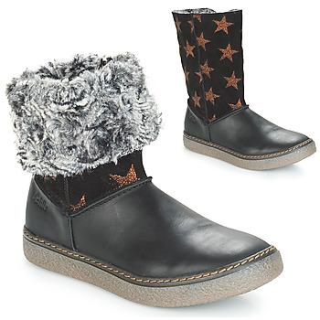 Zapatos Niña Botas urbanas Achile DUBROVNIK Negro